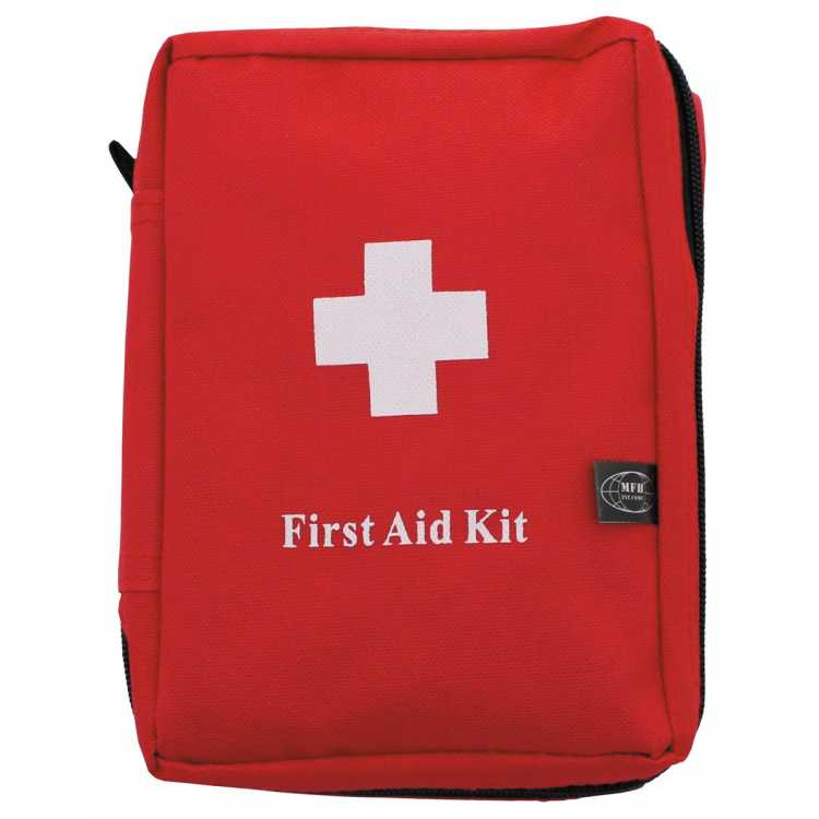 """First aid kit, large, """"MOLLE"""", 18 x 12 x 7 cm"""