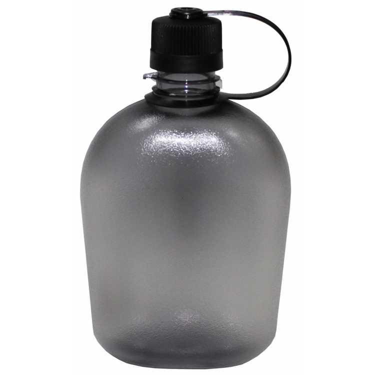 Feldflasche, GEN II, 1 L, transparent, BPA-frei