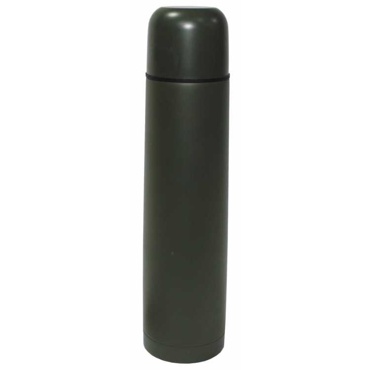 Vacuum thermos 500 ml, screw cap, olive