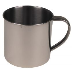Cup, stainless steel, 450 ml