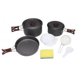 Kochgeschirr, Aluminium, eloxiert, medium