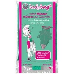 ladybag® pocket toilet for women