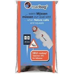 roadbag® pocket toilet for men