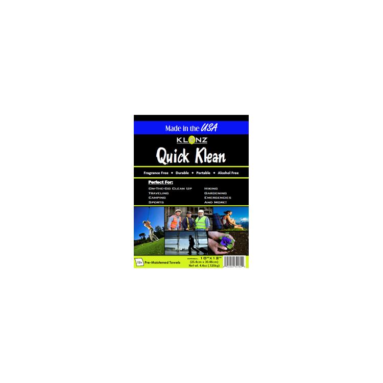 Klenz Quickclean 25 x 30 cm 12-pack