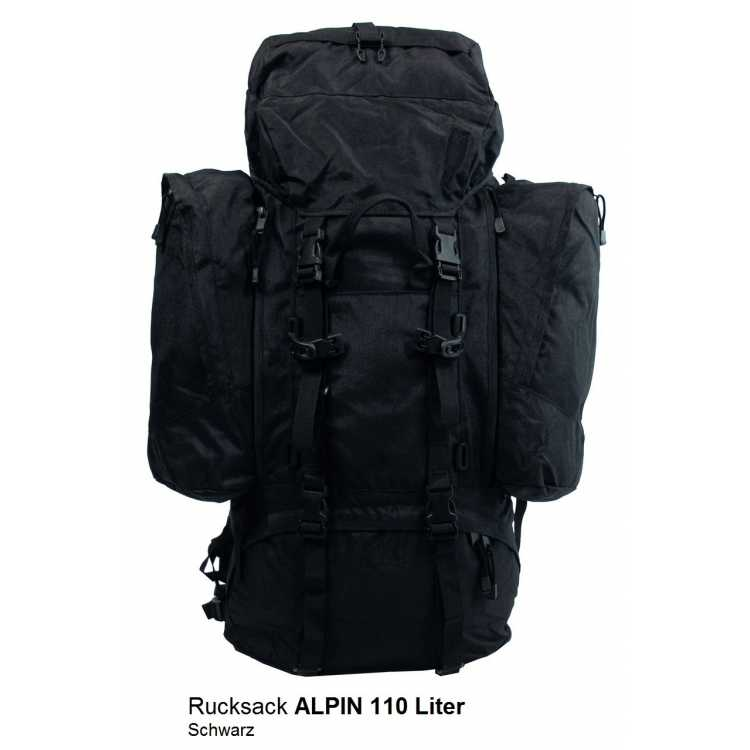 bw rucksack alpin 110 liter. Black Bedroom Furniture Sets. Home Design Ideas