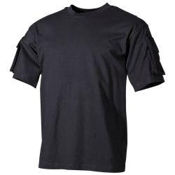 T-shirt, half arm, with 2 sleeve pockets