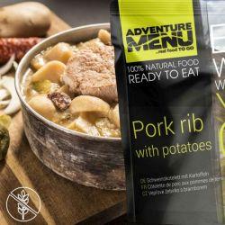 Schweinskotelett mit Kartoffeln - Adventure Menu
