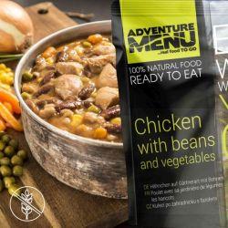 Gardener's Chicken with Beans - Adventure Menu
