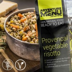 Vegetable risotto with tofu - Adventure Menu