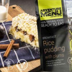 Rice casserole with plums - Adventure Menu