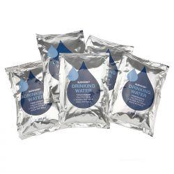 """Trinkwasser, """"Emergency"""", Pack mit 5 x 100 ml Beutel"""