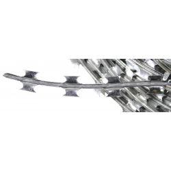 Nato wire - barbed wire - Razorwire, galvanized metal, approx. 50 m
