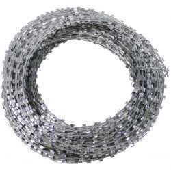 Nato Draht - Stacheldraht - Razorwire, Metall verzinkt, ca. 50 m