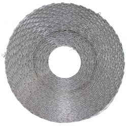 Nato wire - barbed wire - Razorwire, galvanized metal, approx. 120 m