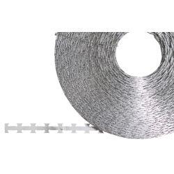 Nato wire - barbed wire - Razorwire, galvanized metal, approx. 120 m