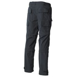 Multifunctional trousers, microfibre, with side pockets