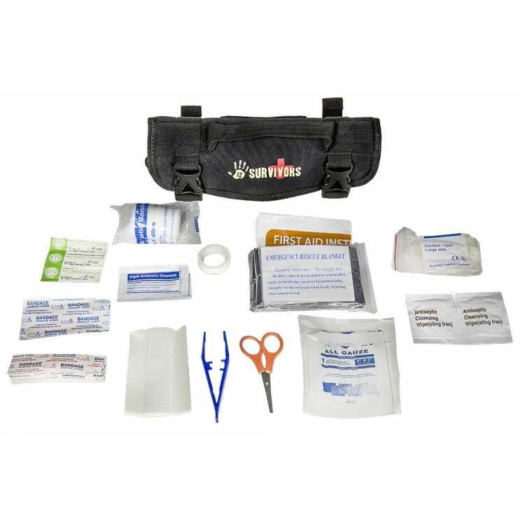 12Survivors First Aid Mini Rollup Kit