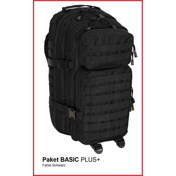 Emergency backpack BASIC + black