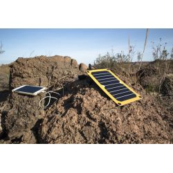 12Survivors solar flare, solar panel