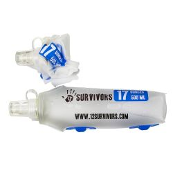 12Survivors, 0.5L flexible faltbare Trinkflasche