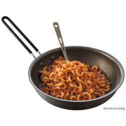 "Trek 'n Eat, ""Noodles in Soy Bolognese"""