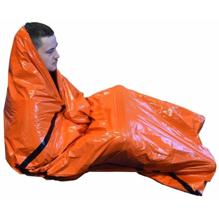 Bad weather emergency survival bag bivouac bag
