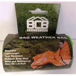 Bad weather emergency survival bag bivouac bag