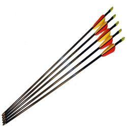 """Arrows 30 """"aluminum 6.75mm black"""