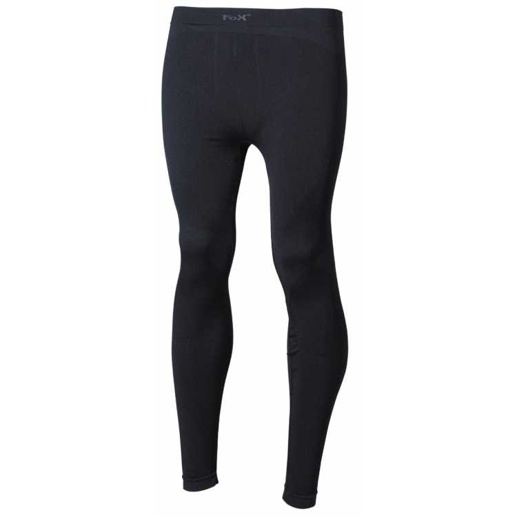 Thermo-Sport-Funktions- Unterhose, lang, schwarz