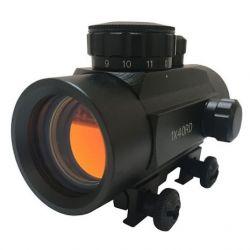 1x40 red dot visor