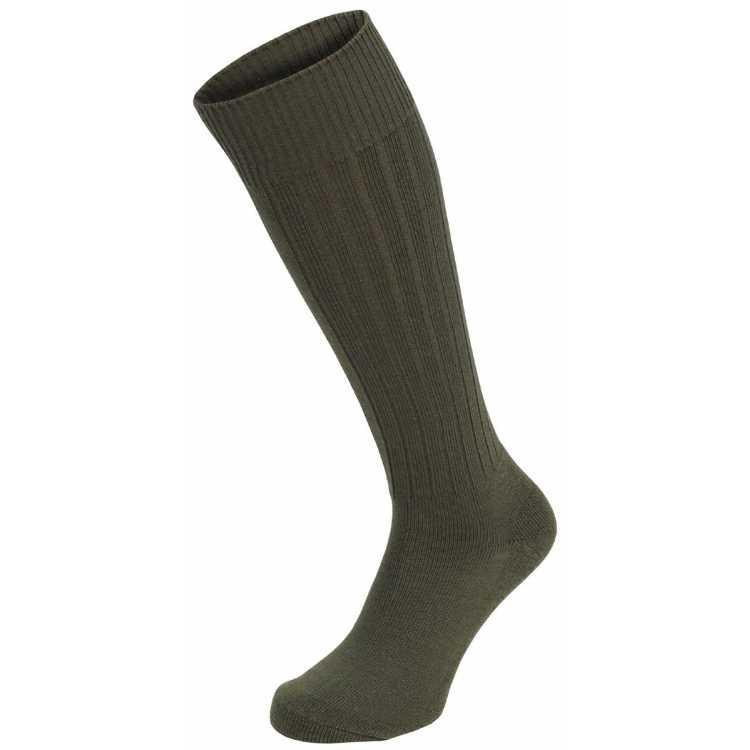 Boot socks, winter, olive