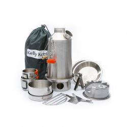 Ultimate 'Base Camp' Kit Edelstahl, Kelly Kettle