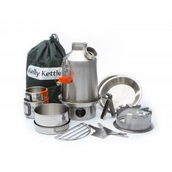 Ultimate 'Scout' kit stainless steel, Kelly Kettle