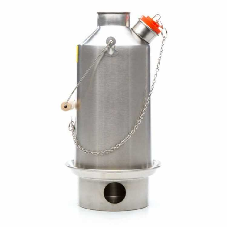Ultimate 'Base Camp' kit stainless steel, Kelly Kettle