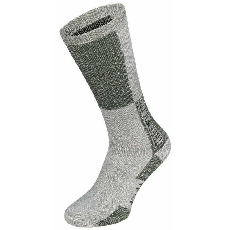 """Winter socks, """"Polar"""", olive-white"""