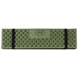 Thermal mat, foldable, olive, size 180 x 58 x 1 cm