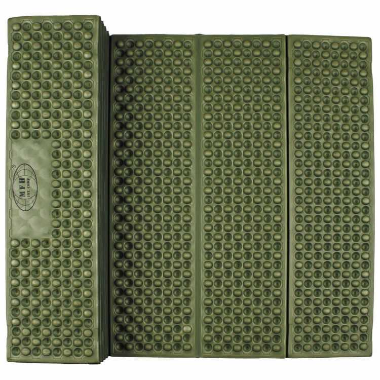 Thermomatte, faltbar, oliv, Gr. 180 x 58 x 1 cm