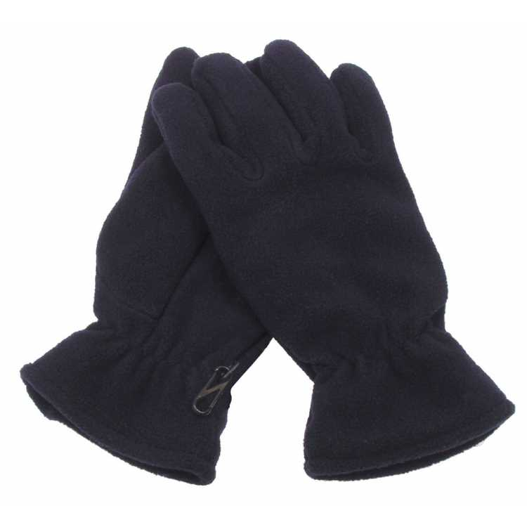 Fleece gloves, lined