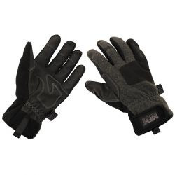 "Gloves, ""Cold Time"", wind resistant, gray"