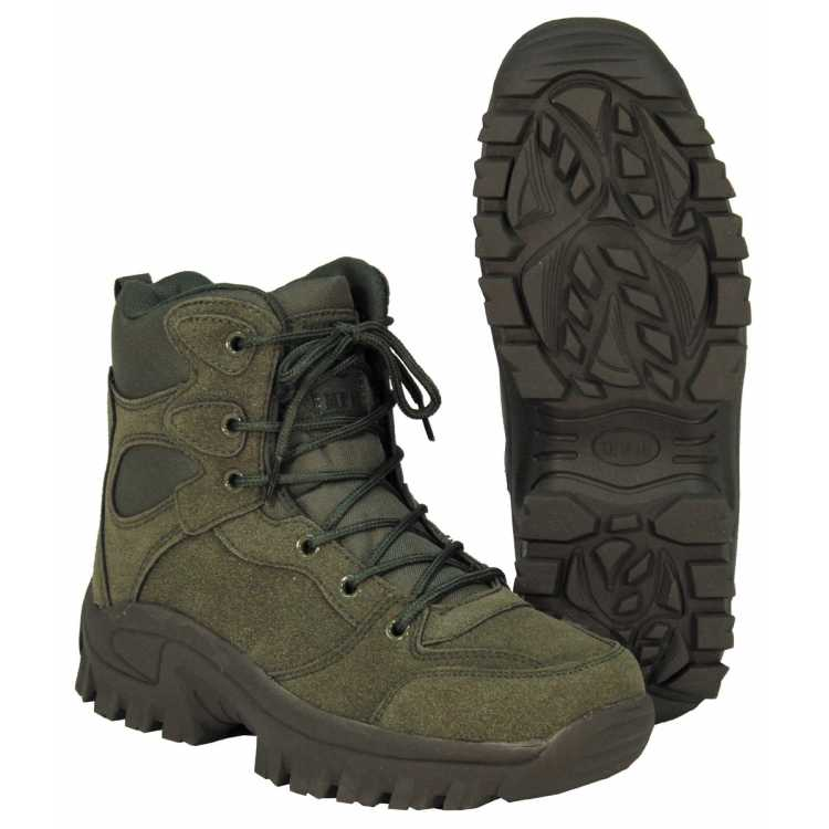 "Boots, ""Commando"", ankle-high"