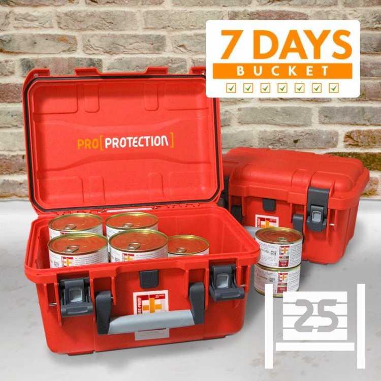 EF Emergency Food - 7 Days BUCKET PRO