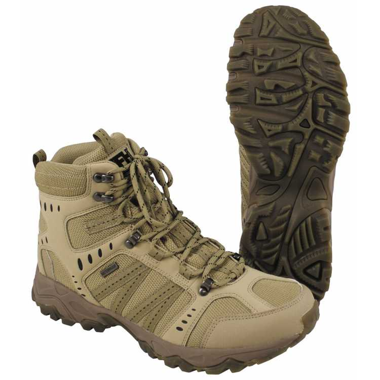 "Mission boots, ""Tactical"", coyote tan"