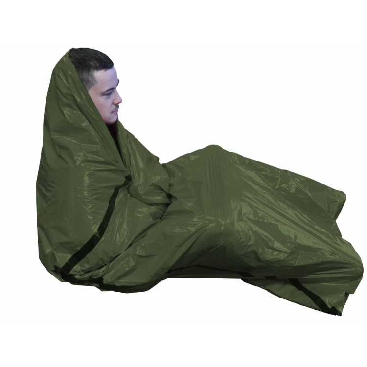 Bad weather emergency survival bag