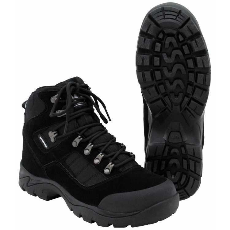 "Mission boots, ""Security"", black"