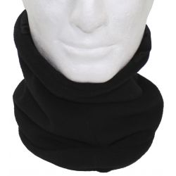 Round scarf, fleece, with head part