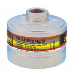 Vollmaske Fernez mit MSA 93 ABEK2Hg Spezial-Atemschutzfilter P3 für Viren und Kampfstoffe