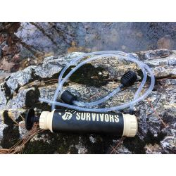 12 Survivors hand pump water purifier
