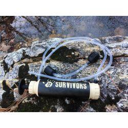 12 Survivors hand pump water purifier