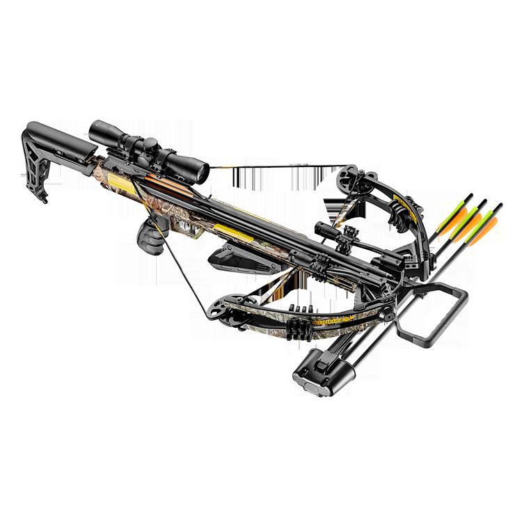 EK Archery Accelerator 370+ Compound Crossbow Camo