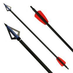 EK ARCHERY Cobra System - 15 inches - incl. Broadhead - 3-pack Cobra R9 / RX